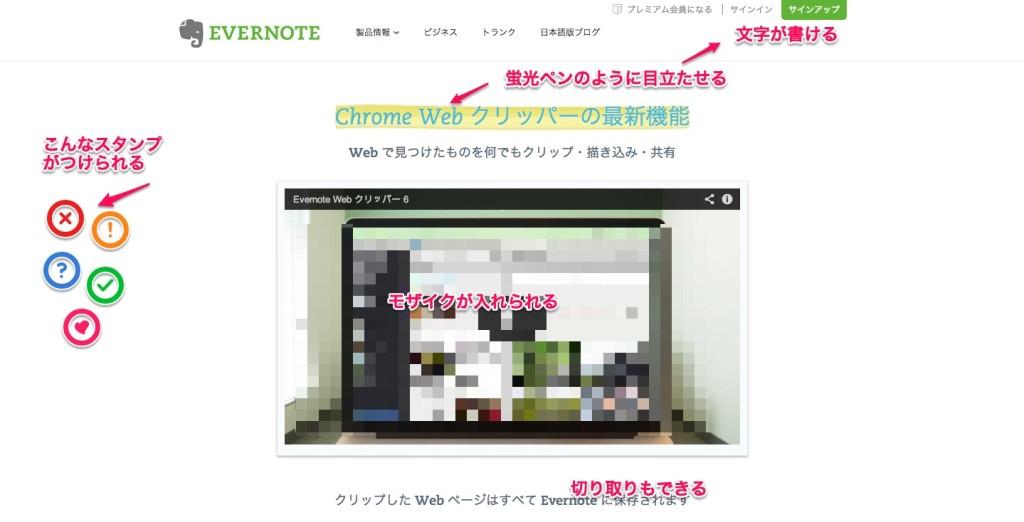 Chrome Web クリッパーの最新機能
